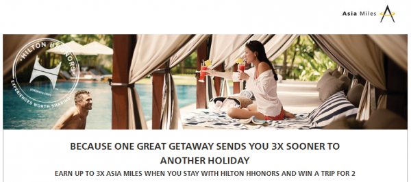 Hilton HHonors Cathay Pacific Asia Miles Up To Triple Miles Offer April 15 July 15 2014