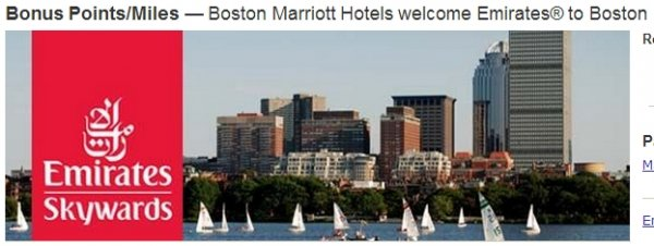Marriott Rewards Emirates Boston