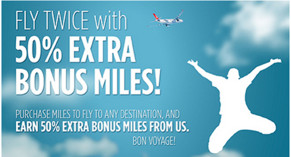 Turkish Airlines Miles&Smiles Buy Gift Miles Promo Spring 2014