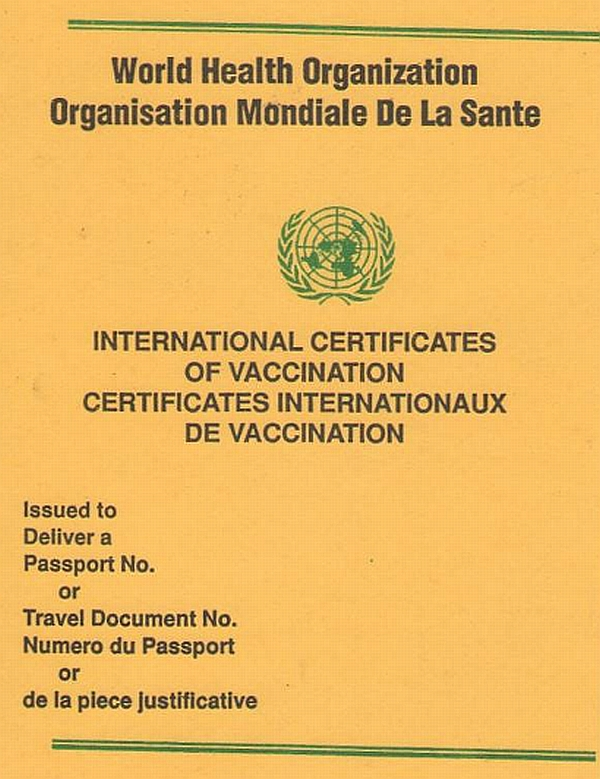 My Travel Problem Of The Week Yellow Fever Vaccination Proof Loyaltylobby