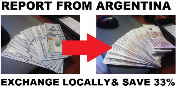 Argentina Dolar Blu