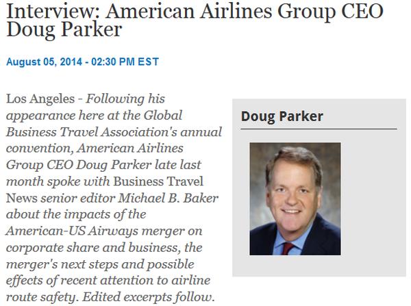BusinessTravelNews Parker