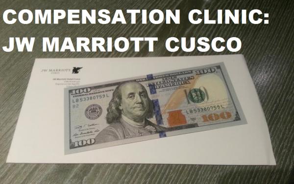 Compensation Clinic JW Marriott Cusco