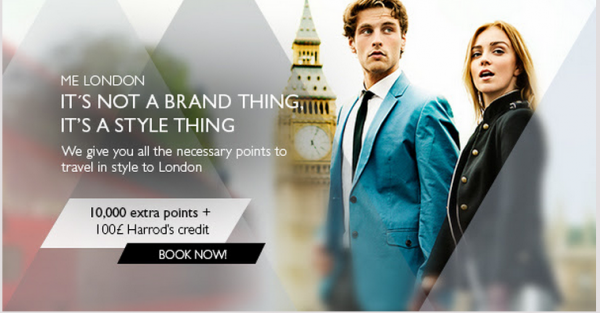 Melia Rewards London ME Offer