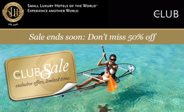 SLH Suite Sale August 2014
