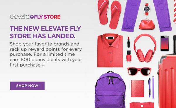 Virgin America Elevate Fly Store
