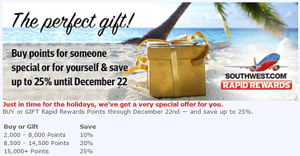 southwest-airlines-buy-gift-points-december-2014-campaign