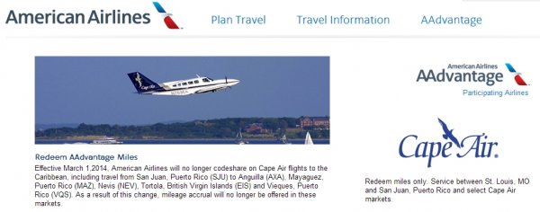 american-airlines-aadvantage-cape-air-partnership-ending