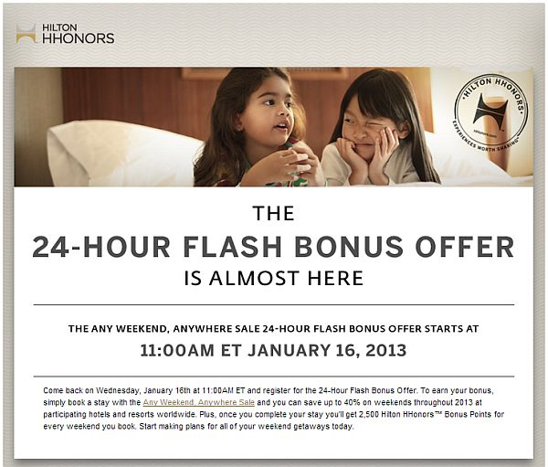 hilton-any-weekend-flash-offer