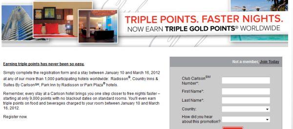 club-carlson-triple-points