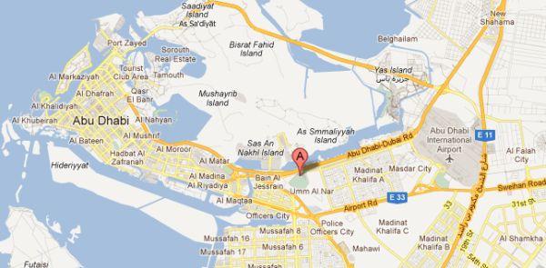 westin-abu-dhabi-location