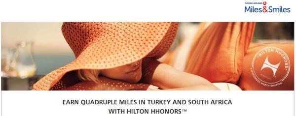 hilton-hhonors-turkish-airlines-milessmiles-quadruple-miles