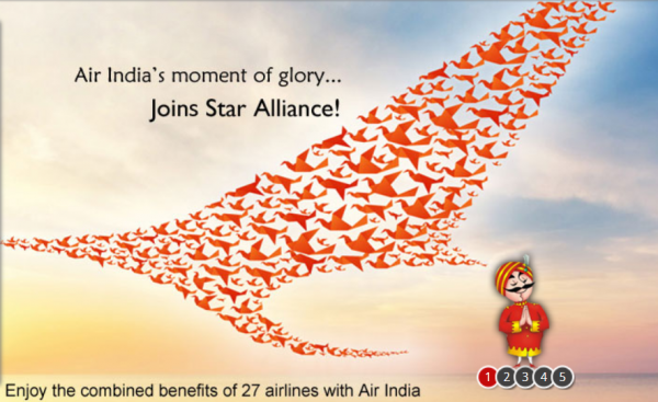 Air India Star Alliance Photo