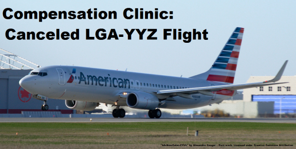 Compensation Clinic American Airlines Cancelled Flight