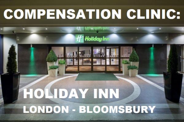 Compensation Clinic Holiday Inn London - Bloomsbury U