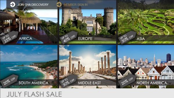 Global Hotel Alliance July 2014 Flash Sale