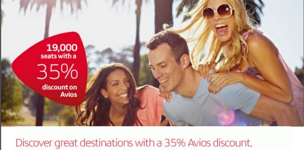 Iberia Plus Avios 35 Percent Off Award Sale