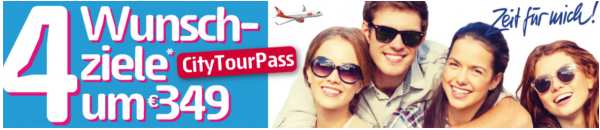 Niki Cititourpass Promotion Banner