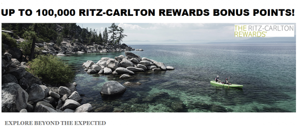 Ritz-Carlton Rewards Explore Beyond The Expected 100,000 Points U