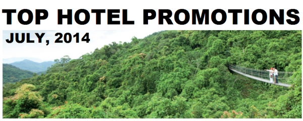 Top Hotel Promotions July 2014