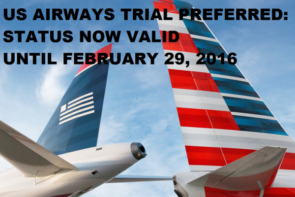 US Airways Trial Preferred
