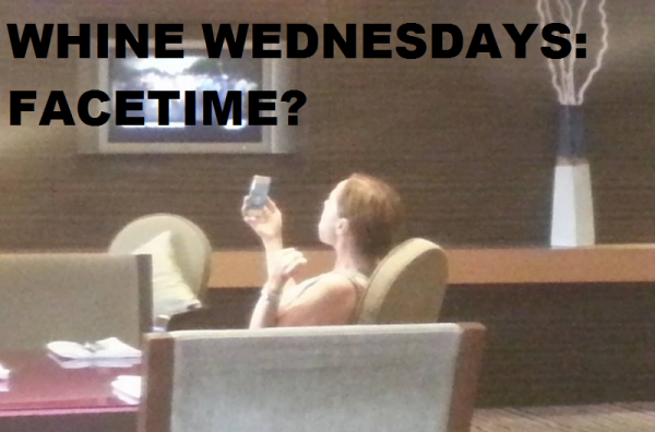 Whine Wednesdays Facetime HI BKK