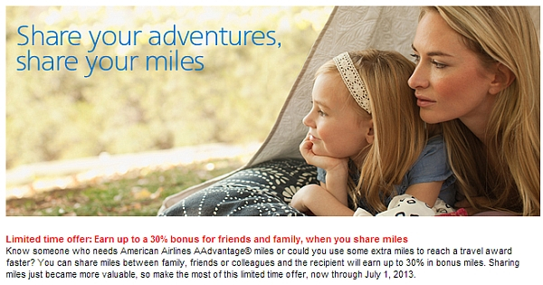 american-airlines-share-miles-offer-june-2013