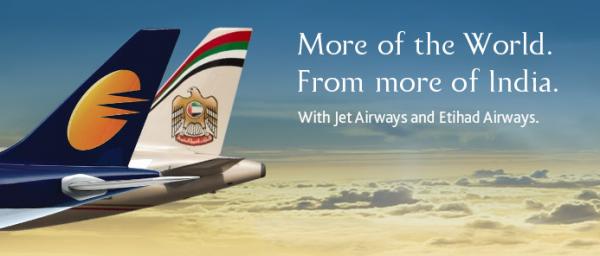 Etihad Jet Airways Partnership