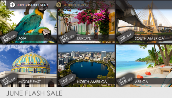 GHA June 2014 Flash Sale