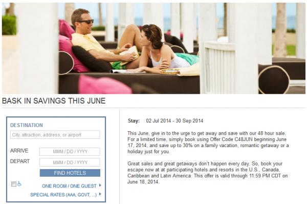 Hyatt Gold Passport June 2014 48-Hour Sale U