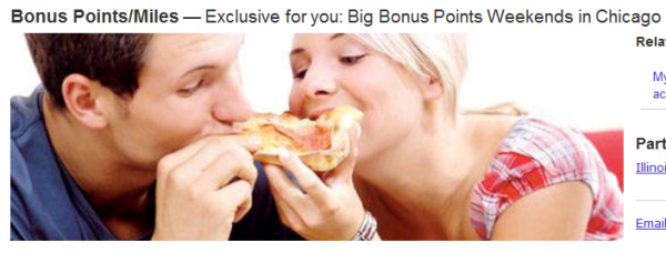 Marriott Rewards Chicago 2500 Bonus Points Offer