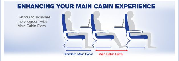 American Airlines To Launch Main Cabin Extra Roomier