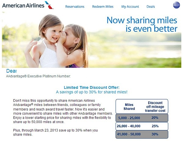 american-airlines-share-miles-offer