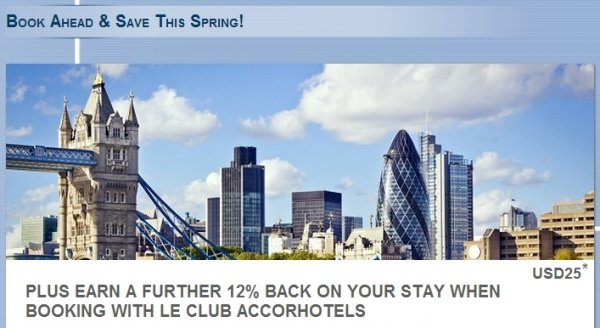 Le Club Accorhotels UK Ireland 3X Points