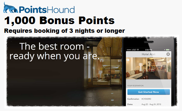 PointsHound Spring 2014 Bonus