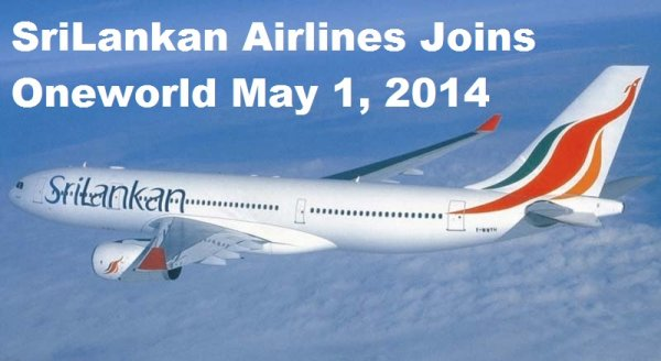 SriLankan Airlines Oneworld May 1