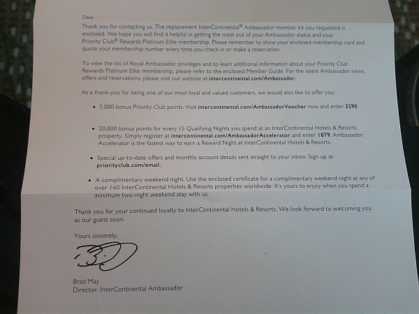 intercontinental-royal-ambassador-letter