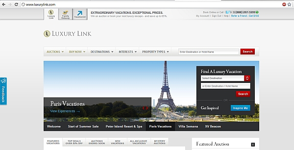 luxury-link-front-page