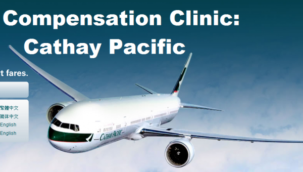 Compensation Clinic Cathay Pacific U