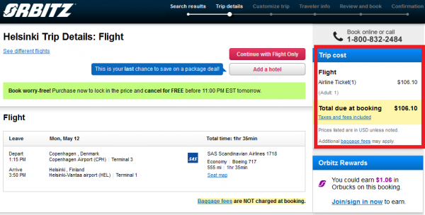 how to see my expedia booking