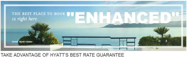 Hyatt Best Rate Guarantee