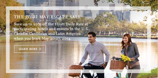Hyatt May 2014 Sale C48MAY U