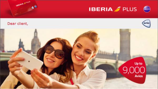 Iberia Plus Europe Avios Bonus May June 2014