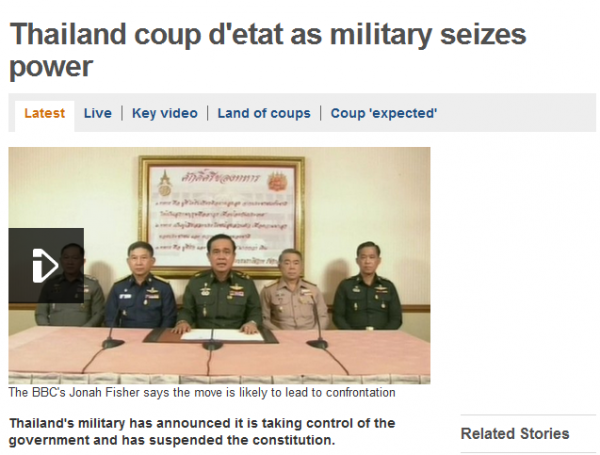 Thailand Coup