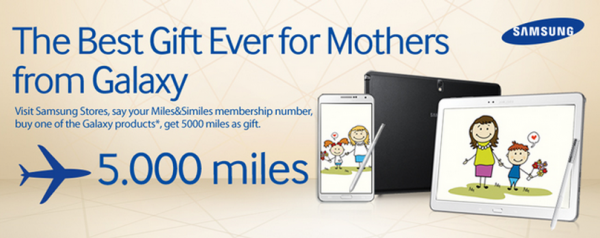 Turkish Airlines Samsung 5,000 Miles Promo