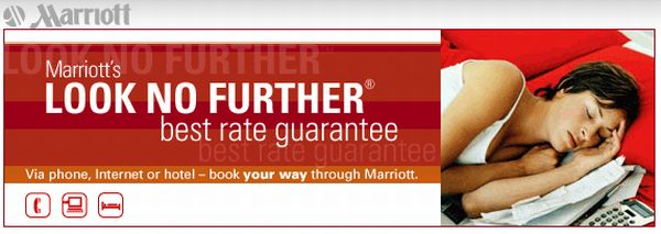 Marriott Look No Further Logo
