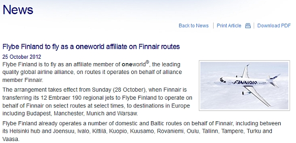 flybe-finland-oneworld-affiliate