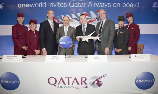 oneworld invites Qatar Airways on board