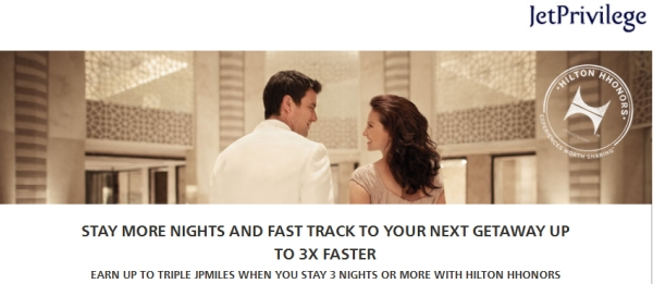 hilton-hhonors-jet-airways-jetprivilege-up-to-triple-miles-offer