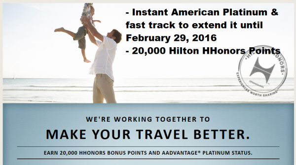 Hilton HHonors American Airlines